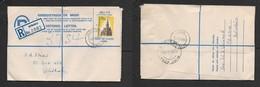 South West Africa, 7 1/2c Registered Letter GOBABIS 9XII 65  > WINDHOEK GBA / RLS 11 XII 65 - South West Africa (1923-1990)
