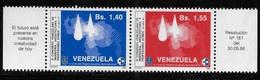 Venezuela 1986 11th Congress Of Architects Engineers & Affilated Professional Pair MNH - Venezuela