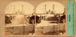 Coln, Cologne, Furne & Tournier, Voyage Bords Du Rhin, Le Pont Neuf, No. 9 - Stereoscopic