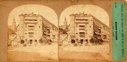 Baden- Baden, Furne & Tournier, Voyage Bords Du Rhin,Place Lèopold, No. 52 - Stereoscopic