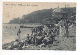 DIANO MARINA Stabilimento Bagni Spiaggia Riviera Gel. 1921 - Imperia