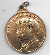 * Medaille Boudouin & Fabiola 155-12-1960 Leve Onze Vorsten - Royal / Of Nobility