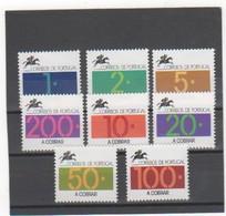 PORTUGAL 1992-93 TAXE YT N° 86 à 93 Neuf** MNH - Neufs