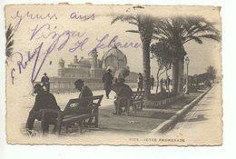 NICE Jetée Promenade Gel. 1901 N. Zürich - Nice