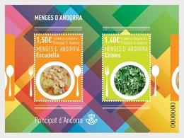Andorra / Andorre - Postfris / MNH - Sheet Andorese Gerechten 2019 - Spaans-Andorra