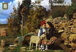 CPM - Rencontre Amoureux - Andorra