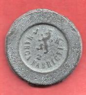 POIDS MONETAIRE Non Identifié , MARCA FABRICEI 2 J.K. , Poids: 11,94 Gr - Monnaies