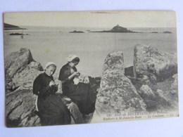 CP (29) Finistère - Env. De DOUARNENEZ - TREBOUL - Rochers à St Jean La Baie - Le Coulinet - Tréboul