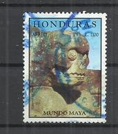 HONDURAS 1998 -  MAYA CULTURE  - POSTALLY USED OBLITERE GESTEMPELT USADO - Archaeology