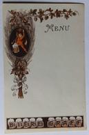 Ancien Menu Publicité Bière GRAFF Belle Illustration Oberthur Rennes 1782-27 - Menus