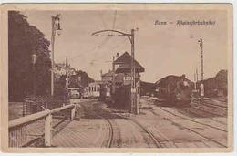 Bonn - Rheinuferbahnhof Mit Dampfzug    (A-74-100203) - Bonn