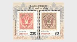 Oostenrijk / Austria - Postfris / MNH - Sheet Oude Postzegels 2019 - 1945-.... 2de Republiek