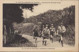 CPA Les Éclaireurs De France Épreuves De Seconde Classe Le Pas De L'Eclaireur Souplesse Et Régularité Scout Scoutisme - Scouting