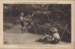 CP Les Éclaireurs De France Épreuves Seconde Classe La Patrouille Apprend à Connaitre Ses Amis Arbres AR Scout Scoutisme - Scouting