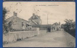 LA FERRIERE    Route De La Gare        écrite En 1938 - Andere Gemeenten