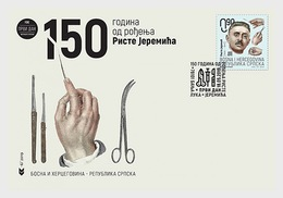 Bosnië & Herzegovina / Bosnia - Postfris / MNH - FDC 150 Jaar Risto Jeremic 2019 - Bosnië En Herzegovina