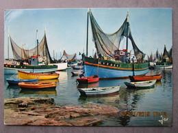 CP 29 LESCONIL -  Bâteaux De Pêche Dans Le Port  De Lesconil  Timbre Y&t N:2475  Pourrat Henri 1987 - Lesconil