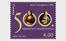 Bosnië & Herzegovina / Bosnia - Postfris / MNH - Complete Set 500 Years Leonardo Da Vinci 2019 - Bosnië En Herzegovina