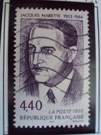 """1990-99   Timbre  Oblitéré N°   3015   """" Jacquette Marette      """"     0.40 - France"""