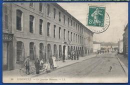 LUNEVILLE    Le Quartier Beauvau        Animées    écrite En 1909 - Luneville