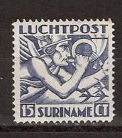 Suriname Luchtpost 2 MLH ; Airmail, Post Aerienne, Correo Aereo 1930 - Suriname