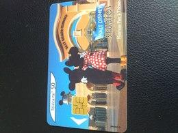 TC Walt Disney Studios 50 Unités,avril 2002, Mickey , Minnie - Disney