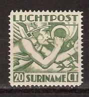 Suriname Luchtpost 3 MLH ; Airmail, Post Aerienne, Correo Aereo 1930 - Surinam