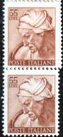 PIA - ITALIA VARIETA' : 1961 : Michelangiolesca - (SAS 908/I - CARRARO 505) - 6. 1946-.. Republic