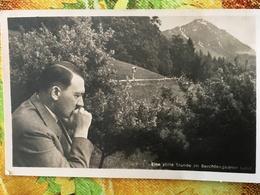 AK Propaganda Berchtesgaden/Obersalzberg A Hitler - Personaggi Storici