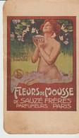 FLEURS DE MOUSSE DE SAUZE FRÈRES - PARFUMEURS - PARIS - JE SUIS TOUS LES SOIR CHEZ ERNEST - A OSTENDE MÊME MAISON MAXIM - Publicidad