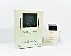 Miniatures De Parfum EAU Du  TSAR De Van Cleef  & Arpels EDT  7 Ml + Boite - Miniatures Modernes (à Partir De 1961)