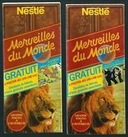 GF237 - CHOCOLAT MERVEILLES DU MONDE - POSTERS JEU - PANZI - SUSPENSE DANS LA FORET - Nestlé