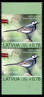 "LATVIA/Lettland  EUROPA 2019 ""National Birds"" Unperfored Pair** - 2019"