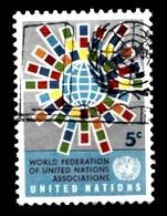 Nations Unies New-York 1966 Mi.Nr: 163 Weltverband Der...  Oblitèré / Used / Gebruikt - New-York - Siège De L'ONU