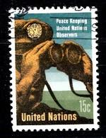 Nations Unies New-York 1966 Mi.Nr: 170 Friedenssicherung...  Oblitèré / Used / Gebruikt - New-York - Siège De L'ONU