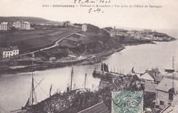 Tréboul Et Kermabon - Vue Prise De L'Hôtel De Bretagne - Douarnenez