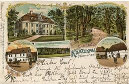 POLOGNE(KRATZKAU) GRUSS 1899 - Pologne