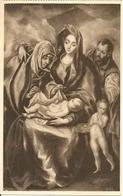 "Madrid (Spagna) Museo Del Prado, Greco, ""Sacra Familia"" - Madrid"