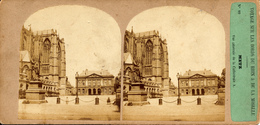 Metz, Furne & Tournier, Voyage Bords Du Rhin, Cathedrale, No.89 - Stereoscopic