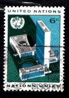 Nations Unies New-York 1968 Mi.Nr: 203 Gebäudekomplexes Der UNO  Oblitèré / Used / Gebruikt - New-York - Siège De L'ONU