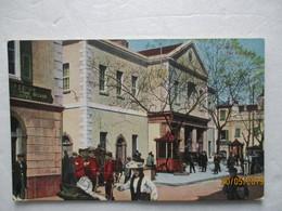 CPA POSTCARD 1915 GIBRALTAR THE EXCHANGE Bank ? Banque Agent De Change Editor VB. CUMBO - Gibraltar