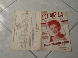 Cet Air Là (Dany Dauberson)-(Paroles Georges Bérard)-(Musique Georges Cornille) Partition - Liederbücher