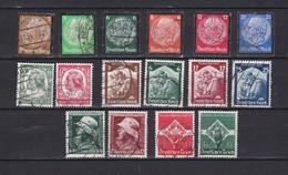Deutsches Reich - 1934/35 - Sammlung - Gest. - 37 Euro - Deutschland