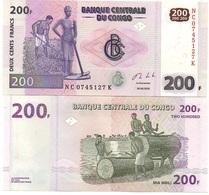 Congo DR - 200 Francs 2013 AUNC Lemberg-Zp - Congo
