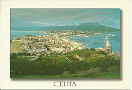 Ceuta (Spagna) Città Spagnola In Africa Confinante Con Il Marocco, Vista Desde El Monte Hacho, Panoramic View - Ceuta