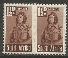 South Africa - 1942 Airman 1.5d Pair MNH **   SG 99  Sc 92 - South Africa (...-1961)