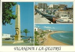 Vilanova I La Geltrù (Tarragona, Spagna) Vistas, Panoramics Views, Vedute E Scorci Panoramici - Tarragona