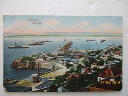 CPA POSTCARD Tarjeta Postal V1915 GIBRALTAR ROSIA BAY Tampon Pad GP ANIME Editor VB. CUMBO - Gibraltar