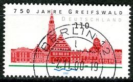 BRD - Michel 2111 - OO Gestempelt (B) - 110Pf              750 Jahre Greifswald - Oblitérés