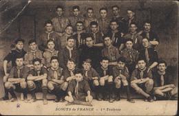 CPA Scouts De France 1re Toulouse Au Verso Nom Des Couts Scoutisme - Scouting